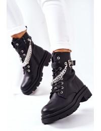 Išskirtinio dizaino aukštos kokybės batai - RQ381 BLACK