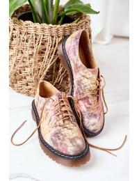 Natūralios odos aukštos kokybės madingi batai - 04087-46/00-5 MULTIKOLOR