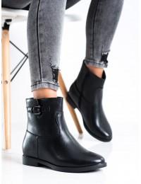 Klasikinio stiliaus juodos spalvos aulinukai - A8300B