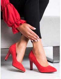 Elegantiški klasikiniai raudoni bateliai - 689565-1R