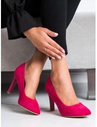 Elegantiški klasikiniai rožiniai bateliai - 689565-1PU