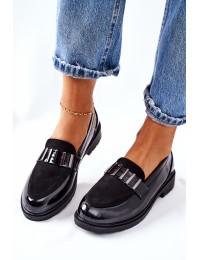 Stilingi juodi aukštos kokybės batai - 317 PATENT