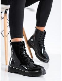Aukštos kokybės Martens stiliaus juodi aulinukai - 56B