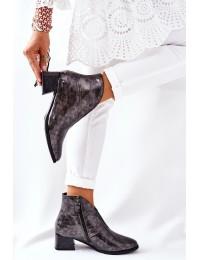 Natūralios išskirtinės odos stilingi batai - 04777-13/00-3 POPIEL