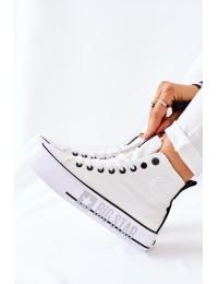 Šiuolaikiški patogūs Big Star aukštos kokybės batai kasdienai - II274014 WHITE