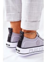 Šiuolaikiški patogūs Big Star aukštos kokybės batai kasdienai - II274023 GREY