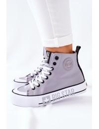 Šiuolaikiški patogūs Big Star aukštos kokybės batai paaukštintu aulu - II274016 GREY
