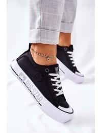 Šiuolaikiški patogūs Big Star aukštos kokybės batai kasdienai - II274019 BLACK