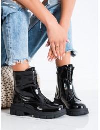 Lakuotos odos stilingi patogūs auliniai batai - 223-88B