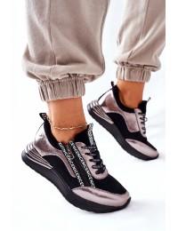Madingi sportini stiliaus batai Black Aduan - 22-10646 BLK