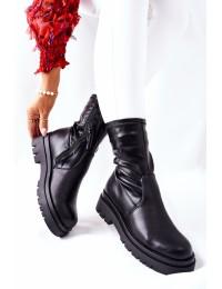 Juodos spalvos stilingi aulinukai - 212-53A BLK
