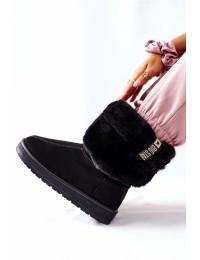 Šilti juodos spalvos Big batai - II274123 BLK
