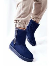 Šilti tamsiai mėlynos spalvos Big batai - EE274416 NAVY