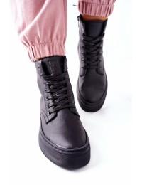 Juodi aukštos kokybės BIG STAR batai - II274096 BLACK