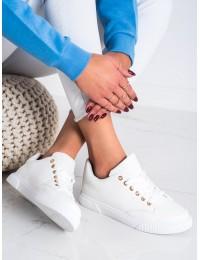 Balti visuomet stilingi suvarstomi bateliai - 6110W