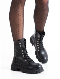 Stilingi juodos spalvos aukštos kokybės aulinukai - RQ379B