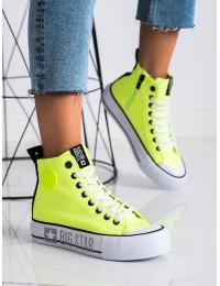 Ryškios neoninės spalvos BIG STAR laisvalaikio batai - II274015Y