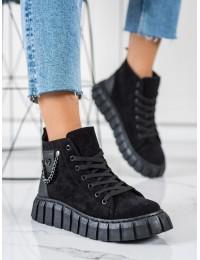 Madingi originalaus dizaino juodi batai - EJ03B/B