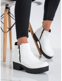 Stilingi balti batai su platforma - 9B1053W