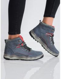 Patogūs pilkos spalvos žygio batai - BD15777G