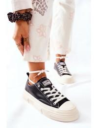 Šilti aukštos kokybės patogūs GOE batai - II2N4035 BLK