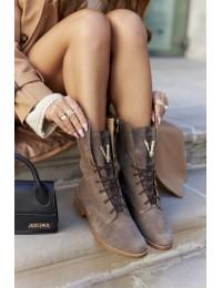 Išskirtinio dizaino natūralios verstos odos Nicole batai - 2581/032 CAPP/W