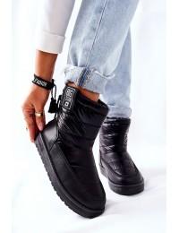 Šilti patogūs juodi Big Star žieminiai batai - II274120 BLK