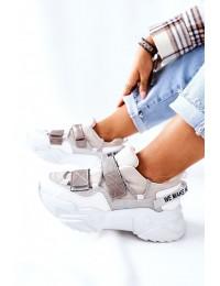 Aukštos kokybės patogūs sportinio stiliaus batai - 21-56004 SILVER