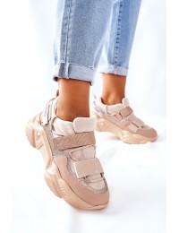 Aukštos kokybės patogūs sportinio stiliaus batai - 21-56004 BEIGE