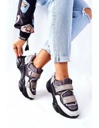 Aukštos kokybės patogūs sportinio stiliaus batai - 21-56004 BLK