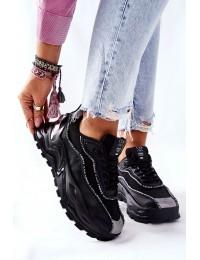 Madingi sportinio stiliaus Cross Jeans batai - II2R4018C BLK