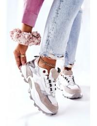 Sportiniai Cross Jeans patogūs kokybiški batai - II2R4020C WHITE/GREY