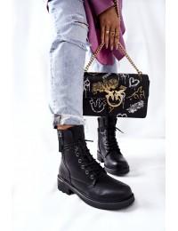 Stilingo dizaino patogūs aukštos kokybės batai Black Maisa - 21BT35-4226 BLK