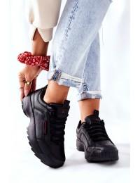 Sportiniai juodi Cross Jeans kokybiški bateliai - EE2R4134C BLK