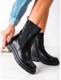 Juodi aukštos kokybės VINCEZA batai - HX22-16293B