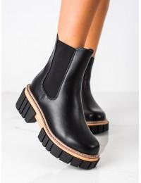 Juodos spalvos batai stilingi išskirtiniu padu - NS228B