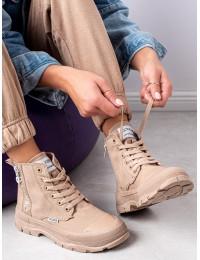 Stilingi rusvi suvarstomi batai - HR-31KH