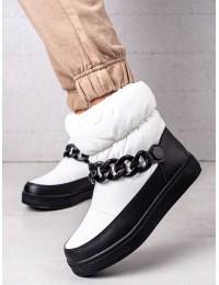 Balti stilingi patogūs sniego batai - WB-3558W