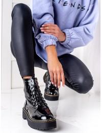Lakuotos odos suvarstomi aukštos kokybės batai - GD-XR-616B