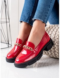 Raudoni stilingi batai su platforma - GD-XR-114A-R