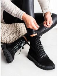 Zomšiniai patogūs suvarstomi batai kiekvienai dienai - GD-DO-602B