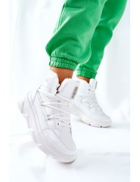 Balti aukštos kokybės Big Star batai su pašiltinimu - II274463 WHT