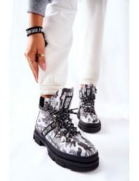 Išskirtinio dizaino Big Star Moro Black aulinukai\n - II274368 BLK