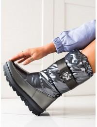 Stilingi šilti aukštos kokybės žieminiai batai - WB-4296G
