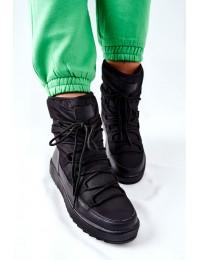 Šilti patogūs aukštos kokybės batai Black Cironeus - WB-3990A BLK