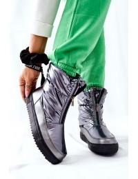 Šilti patogūs aukštos kokybės batai Grey Monile - WB-4349A GREY