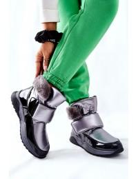 Šilti patogūs aukštos kokybės batai Grey Evamia - WB-4270 GREY