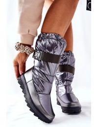Patogūs aukštos kokybės šilti drėgmei atsparūs batai Grey Eunousa - WB-4296 GREY