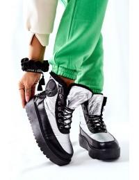 Šilti komfortiški aukštos kokybės batai - HY01 SILVER