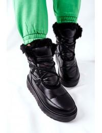 Šilti komfortiški aukštos kokybės batai - HY02 BLK